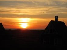 Sonnenuntergang um 22h
