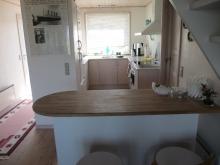 Küche und Früstücksplatz